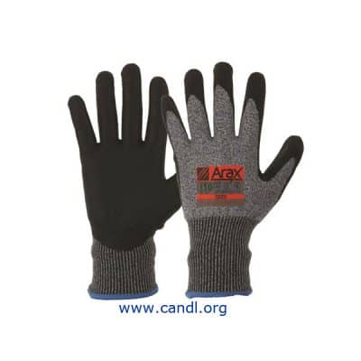 Arax® Waterbased PU Dip On 13G Liner Gloves