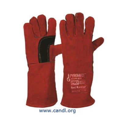 Pyromate® Red Kevlar® Gloves - ProChoice® Safety Gear