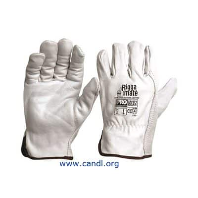 Riggamate Natural Cowgrain Gloves