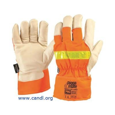 Riggamate® Reflector Lined Gloves - ProChoice® Safety Gear