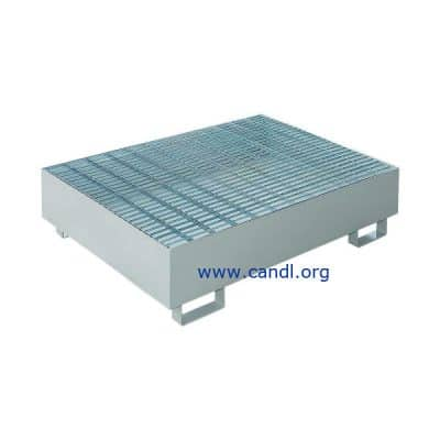 DITI16222091 -2 and 4 Drum Metal Spill Containment Pallet