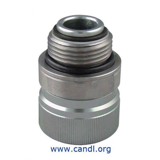 DMANS111 - Straight Swivel - Aluminium