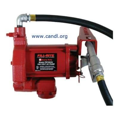 DTUTFR700VG 240 Volt Petrol Pump Kit 75LPM