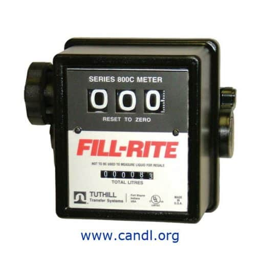 "DTUTFR807CMK - Petrol Flow Meter 3/4"" BSP"