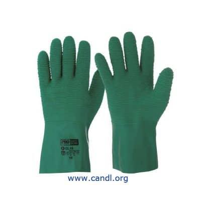 ProSense Green Gauntlet Gloves - ProChoice® Safety Gear