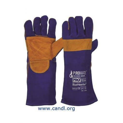 Pyromate® Blue Heeler® Kevlar Gloves