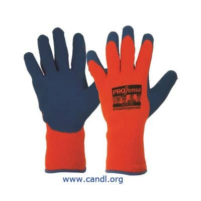 LAB - Prosense Arctic Pro With Blue Latex Palm Gloves