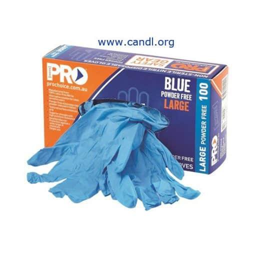 Disposable Nitrile Powder Free Gloves