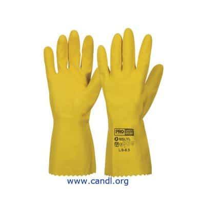 Silverlined Rubber Gloves - ProChoice® Safety Gear
