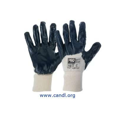 Super-Lite Blue 3/4 Dipped Gloves - ProChoice® Safety Gear