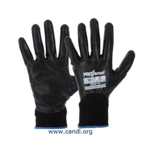 Prosense Lite Grip Gloves, Water Repellant