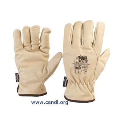 Riggamate® Pig Grain Leather Gloves