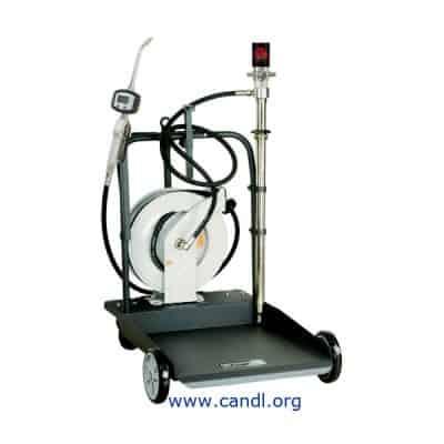 DITI1700233 - 3:1 205L Air Operated Portable Oil Transfer Kit + Hose Reel