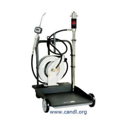 DITI1700333 - 205L Air Operated Portable Oil Transfer Kit + Hose Reel