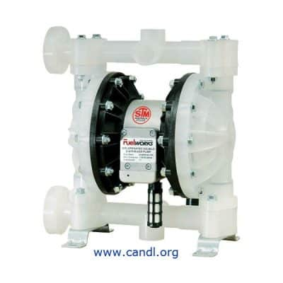 DITI17151201 - Air Operated Diaphragm Pump - Polypropylene 1""
