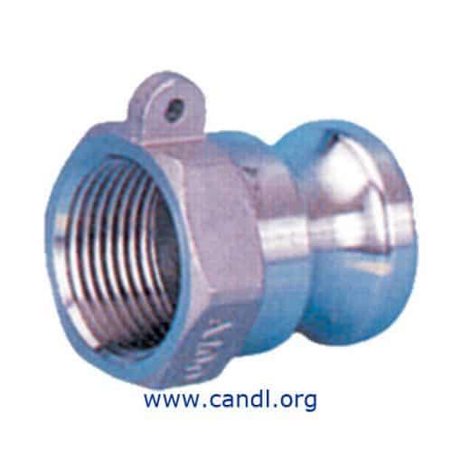 STPC20AAL - Aluminium Type A Camlock