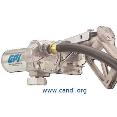 12Volt DC Aluminium Gear Diesel Pumps