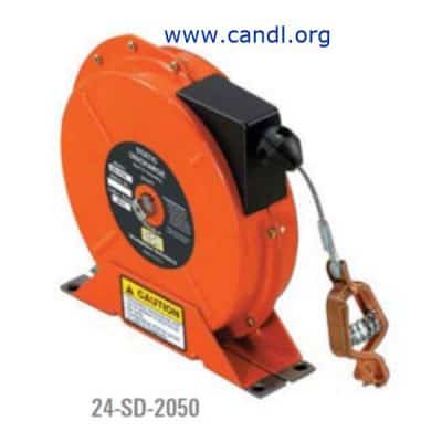 Enclosed Spool Static Electricity Discharge Reels