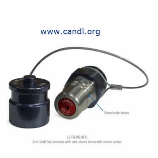 Flomax Anti-Theft Diesel Fuel Receiver