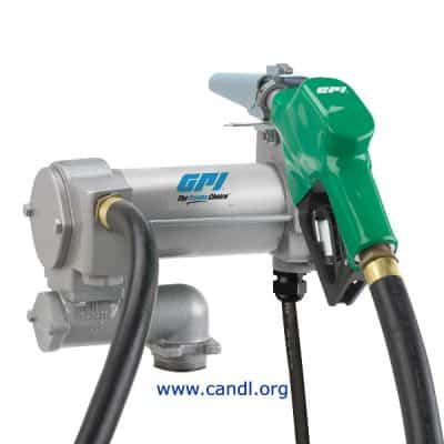 M-3025 12Volt DC Electric Vane Diesel Pumps - GPI Flowmeters