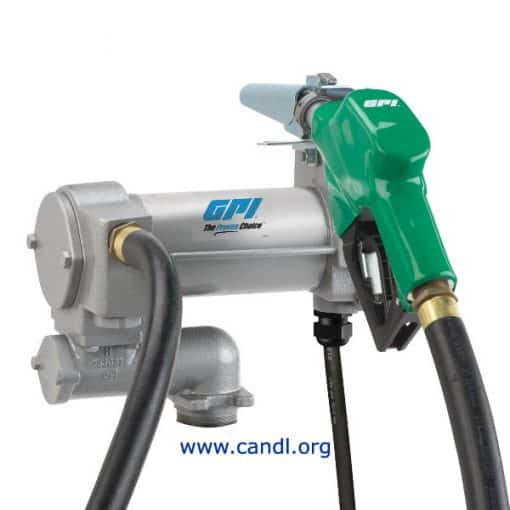 M-3025 12Volt DC Electric Vane Diesel Pumps - GPI Flowmeters