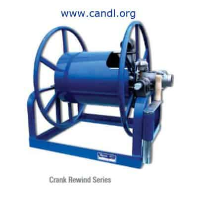 Manual Rewind Hose Reels without Hose Kit