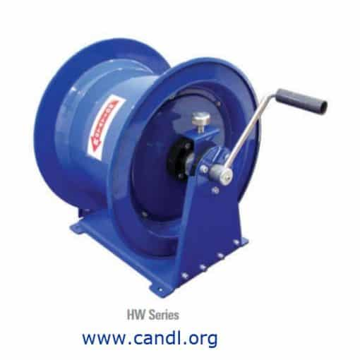 Manual and Crank Rewind Hose Reels with Hose Kit