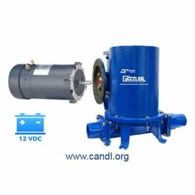 Guzzler® GE-2603A Motorised Pump