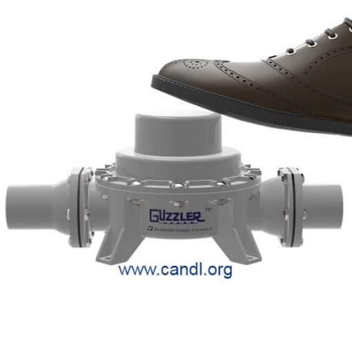 Guzzler® GF-0500D Foot Button Pump