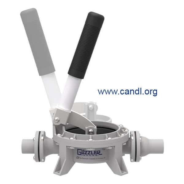 Guzzler® GH-0400D Vertical Hand Pump