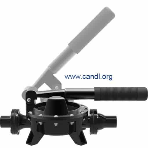 Guzzler® GH-0400P Horizontal Polypropylene Hand Pump