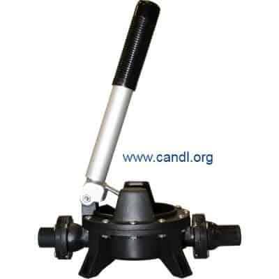 Guzzler® GH-0400P Vertical Polypropylene Hand Pump