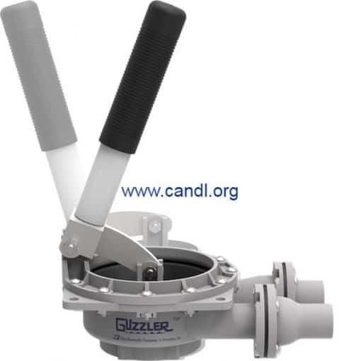 Guzzler® GH-0450D Vertical Hand Pump