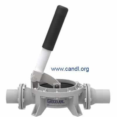 Guzzler® GH-0500D Vertical Hand Pump