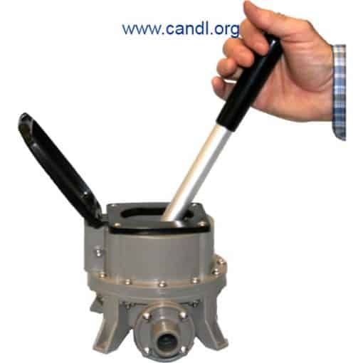 Guzzler® GH-M400D Flush Mounted Hand Pump