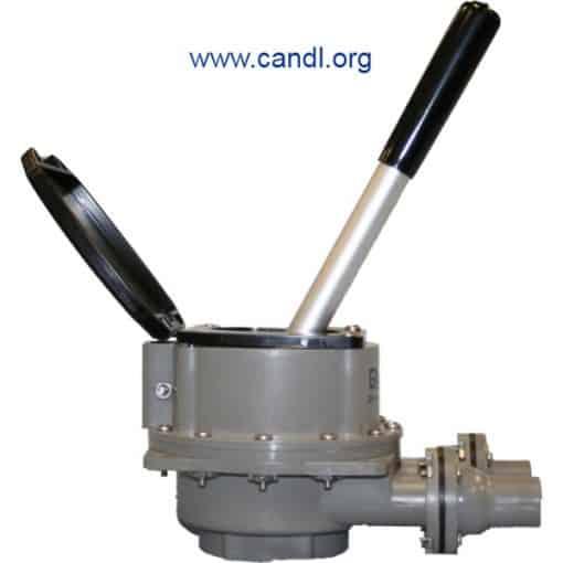Guzzler® GH-M450D Flush Mounted Hand Pump