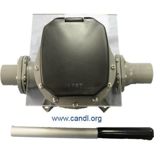 Guzzler® GH-M500D Flush Mounted Hand Pump