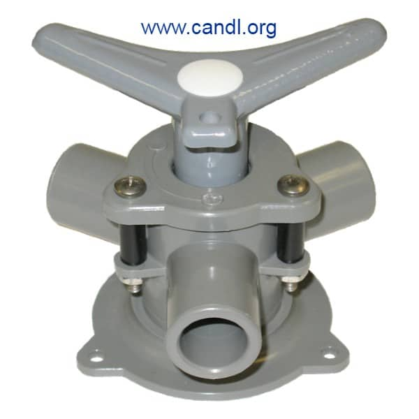"""Sea-lect® YV-094D-B """"Easy-Turning"""" Base Mount Y-Valve"""