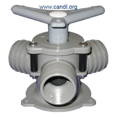 "Sea-lect® YV-095D-B ""Easy-Turning"" Base-Mount Y-Valve"