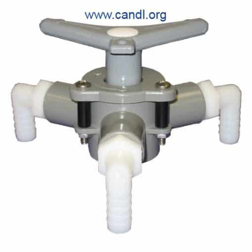 """Sea-lect® YV-095D-L """"Easy-Turning"""" Y-Valve"""