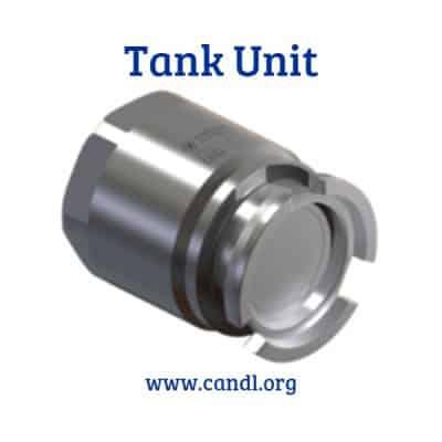 1inch Dry Break Coupling Tank Unit - Smartflow