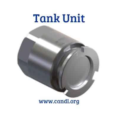 2.5inch Dry Break Coupling Tank Unit - Smartflow